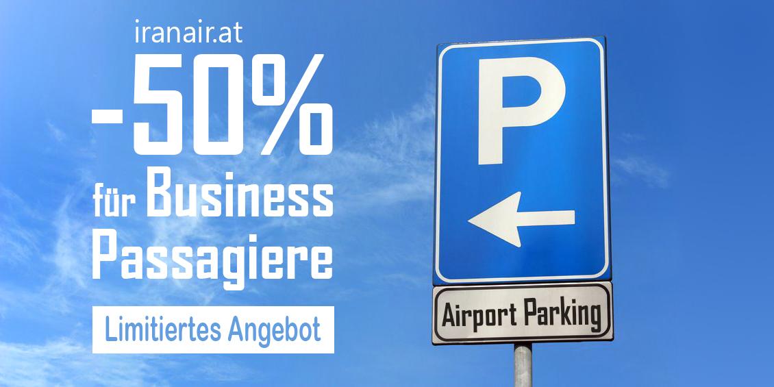 Parkplatz am Flughafen Wien