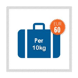 10kg extra um nur EUR 45